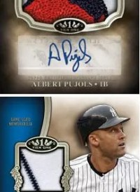 2012 Topps Tier One Patch Albert Pujols