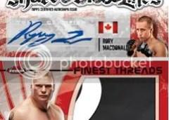 2012 Topps Finest UFC Brock Lesnar Patch