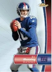2012 Topps Finest Eli Manning Base Card