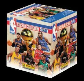 2012-13 Panini NBA Sticker Collection Box