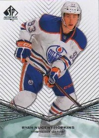 2011-12 UD SP Authentic Extended Series RC Ryan Nugent-Hopkins Card #R33