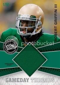 2012 Press Pass Showcase Gameday Threads Robert Griffin III Jersey Card #/50