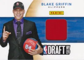 2012 Panini Father's Day Blake Griffin NBA Draft Material Card