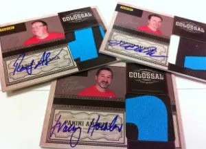 2012 Panini NSCC Employee Wrapper Redemption Cards