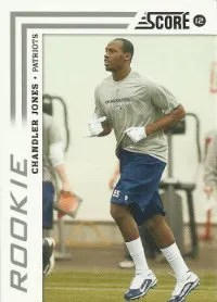 2012 Score Football Chandler Jones Rookie Card