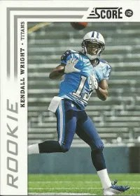 2012 Score Football Kendall Wright SP Photo Variation RC