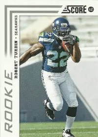 2012 Score Football Robert Turbin Rookie #369