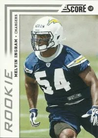 2012 Score Melvin Ingram Rookie Card