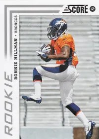 2012 Score Ronnie Hillman SP Photo Variation RC