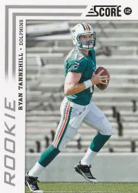2012 Score Ryan Tannehill Rookie Card