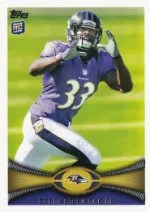 2012 Topps Bernard Pierce RC Card