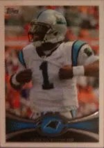 2012 Topps Cam Newton Photo Variation SP Base Card #250