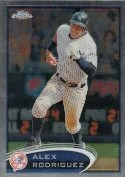 2012 Topps Chrome Alex Rodriguez Base Card #49