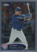 2012 Topps Chrome Josh Hamilton SP Photo Variation