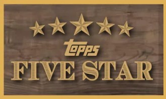 2012 Topps Five Star Baseball