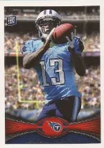 2012 Topps Kendall Wright RC Card