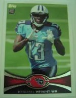 2012 Topps Kendall Wright SP Photo Variation RC