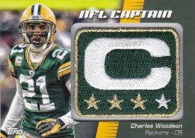 2012 Topps NFL Captain Patch Charles Woodson