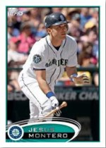 2012 Topps Update Series Jesus Montero Base Card