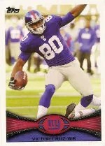 2012 Topps Victor Cruz Base Card #430
