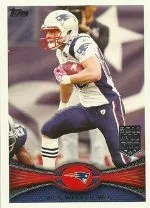 2012 Topps Wes Welker Base Card #220