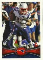 2012 Topps Wes Welker SP Photo Variation Base #220