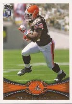 Trent Richardson 2012 Topps Rookie #380