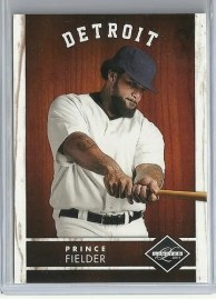 2011 Panini Limited Prince Fielder Base Card