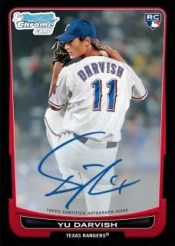 2012 Bowman Yu Darvish Autograph Rookie RC