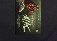 2012 Topps Inception Robert Griffin III Silver Signings Autograph