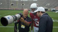 Cardinals Michael Floyd at Rookie Photo Shoot