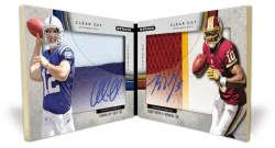 2012 Topps Strata Andrew Luck Robert Griffin III Dual Auto