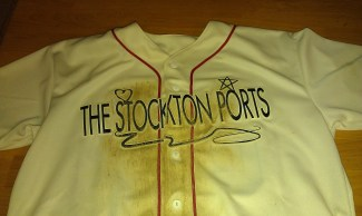 Stockton Ports Rashun Dixon Game Used Jersey