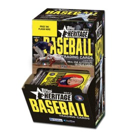 2012 Topps Heritage Baseball Retail Gravity Feed Box