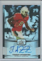 2012 Leaf Metal Draft Tommy Streeter Autograph