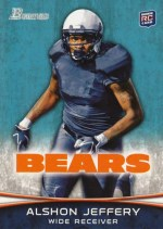 2012 Bowman Alshon Jeffery Base RC