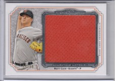 2012 Topps Museum Collection Matt Cain Jumbo