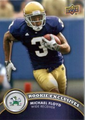2012 Upper Deck Michael Floyd Rookie Exclusive