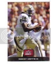 2012 Leaf Metal Robert Griffin III Inserts Retail