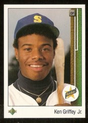 1989 Upper Deck Ken Griffey Jr. Rookie RC