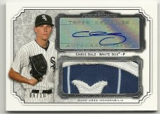 2012 Topps Museum Collection Chris Sale Jumbo Patch