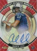 2012 Topps Finest Andrew Luck Autograph Atomic