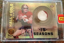 2012 Panini Black Box Joe Montana Gold Standard 1/1