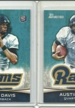 2012 Bowman Austin Davis Variation Rookie RC