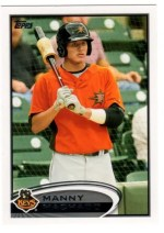 2012 Topps Pro Debut Manny Machado Variation