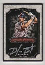 2012 Topps Museum Collection Brandon Belt Framed Auto