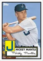 2012 Topps National Convention Mickey Mantle