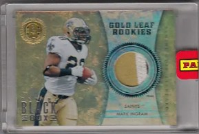 2012 Panini Black Box Mark Ingram Gold Standard 1/1