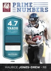 2012 Donruss Elite Maurice Jones Drew Prime Numbers