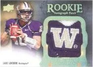 2011 UD Exquisite Jake Locker Patch